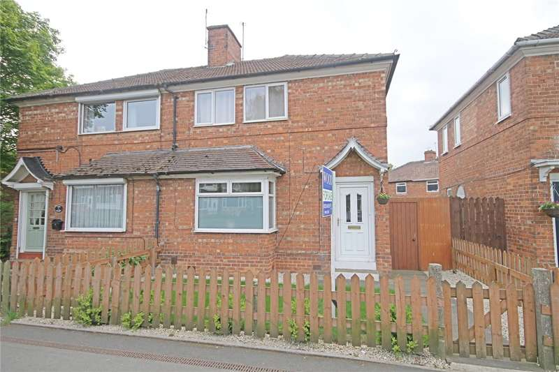 2 Bedrooms Semi Detached House for sale in Longfield Road, Darlington, County Durham, DL3