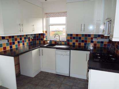3 Bedrooms Semi Detached House for sale in Bryn Gwenfro, Tanyfron, Wrexham, Wrecsam, LL11