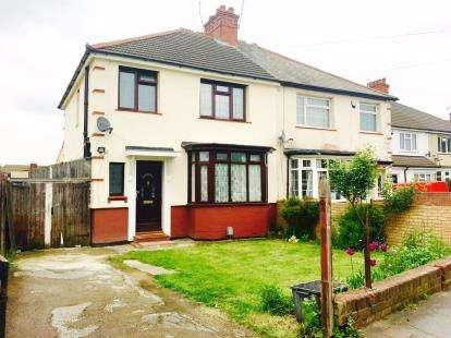 3 Bedrooms Semi Detached House for sale in Limbury Road, Luton, Bedfordshire, Limbury