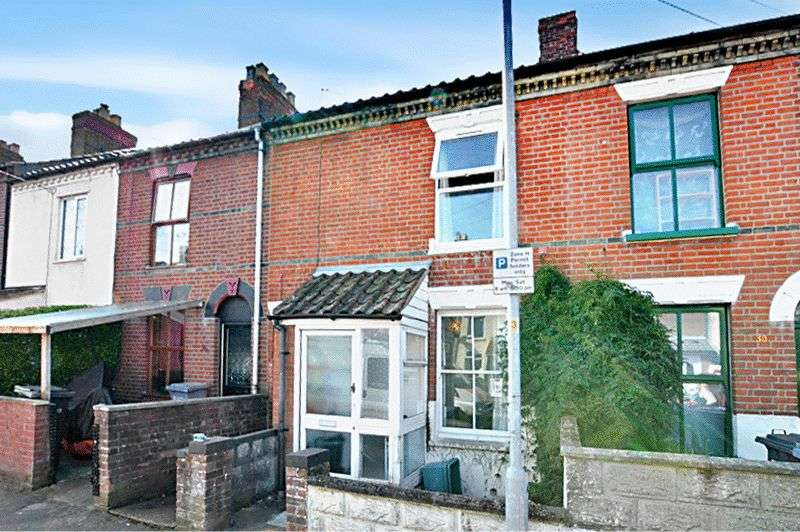 2 Bedrooms Terraced House for sale in Guernsey Road, Norwich