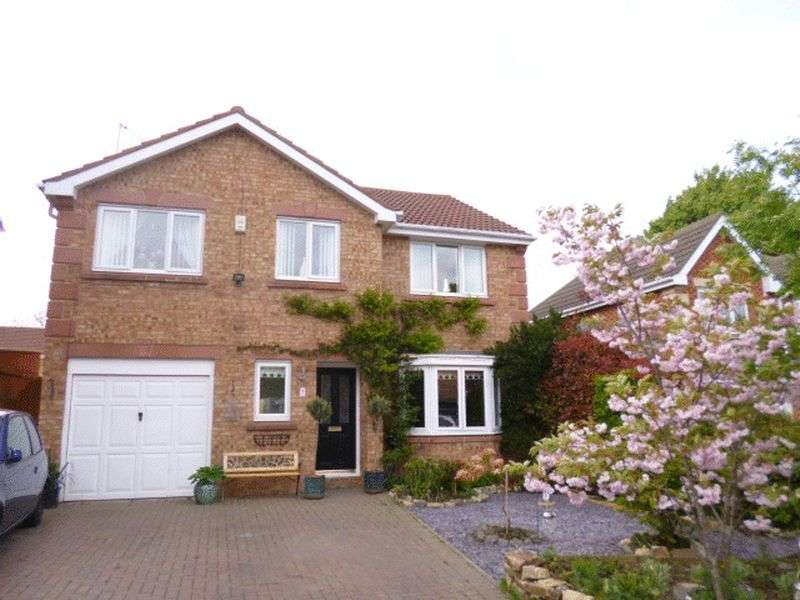 4 Bedrooms Detached House for sale in Clover Drive, Bishop Auckland