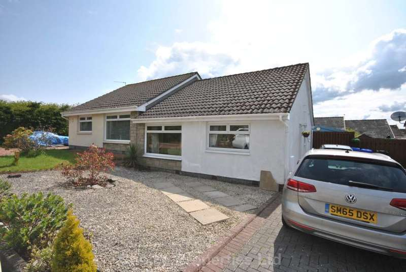 2 Bedrooms Semi Detached Bungalow for sale in Roseburn Drive, Cumnock, KA18 1DH