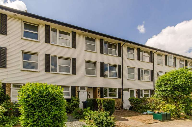 4 Bedrooms Terraced House for sale in Ranelagh Place, New Malden, KT3