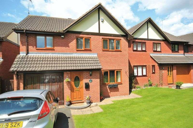 4 Bedrooms Detached House for sale in Brookfield, Whitchurch