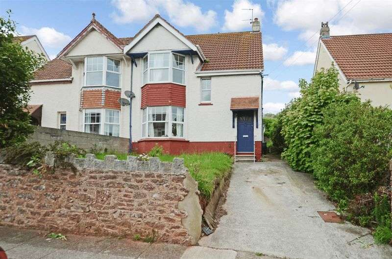 4 Bedrooms Semi Detached House for sale in Higher Polsham Road, Paignton