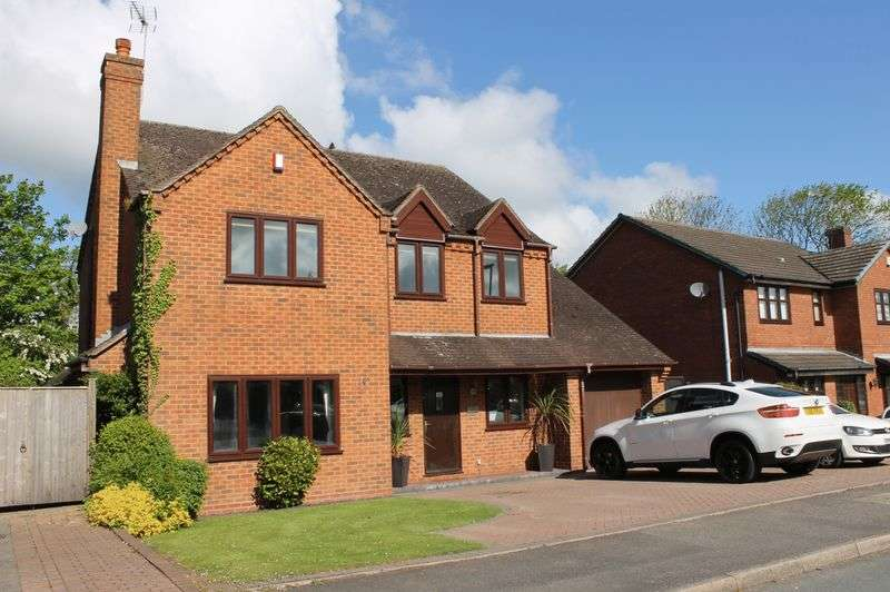 4 Bedrooms Detached House for sale in NO UPWARD CHAIN- Little Marsh Grove, Penkridge.