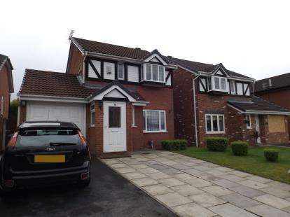 3 Bedrooms Detached House for sale in Locks View, Ince, Wigan, Greater Manchester, WN1