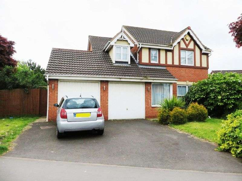4 Bedrooms Detached House for sale in Brades Road, Oldbury