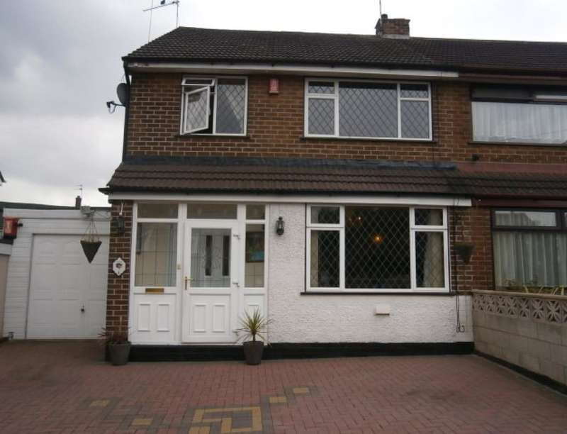 3 Bedrooms Semi Detached House for sale in York Road, Weston Coyney, Stoke-On-Trent, ST3