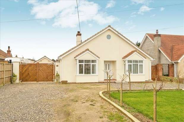 4 Bedrooms Detached Bungalow for sale in Dereham Road, Watton, Thetford, Norfolk