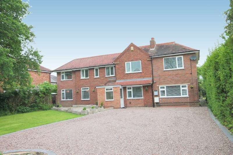 4 Bedrooms Detached House for sale in Ashby Road, Tamworth, B79 8AL