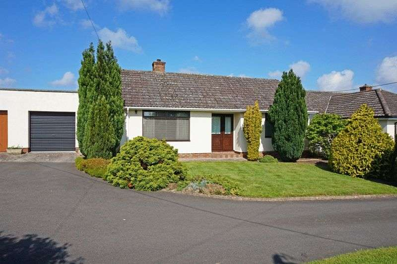 2 Bedrooms Detached Bungalow for sale in North End, Creech St Michael