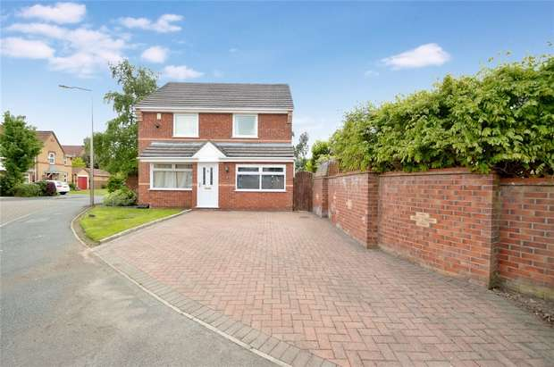 3 Bedrooms Detached House for sale in Sandpiper Drive, Stockport, Cheshire