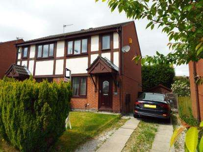 2 Bedrooms Semi Detached House for sale in Cheshire Gardens, St. Helens, Merseyside, WA10