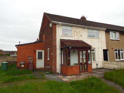 3 Bedrooms End Of Terrace House for sale in Blackdown Grove, St. Helens, Merseyside, WA9