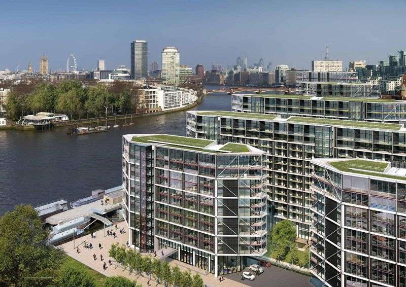 3 Bedrooms Flat for sale in Nine Elms Lane Vauxhall, SW8 5DA