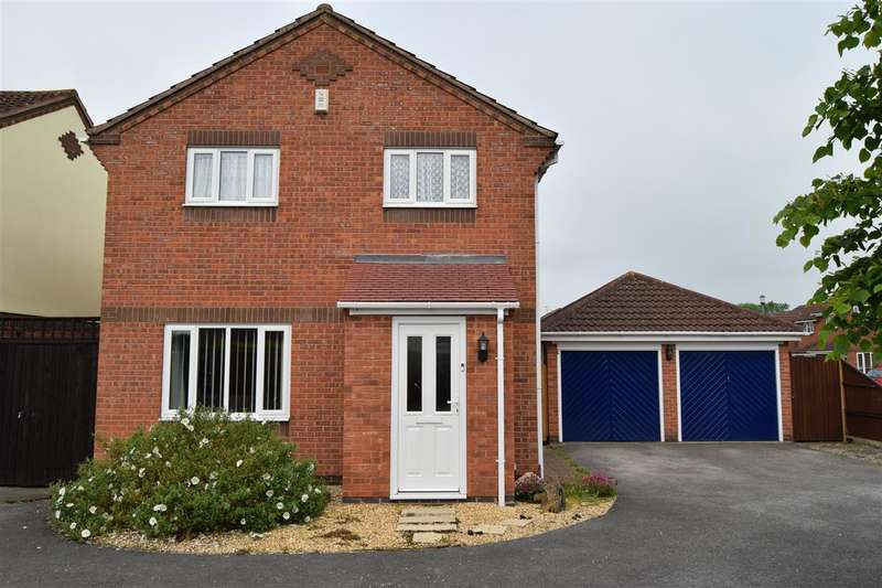 4 Bedrooms Detached House for sale in Orchid Drive, Farndon, Newark
