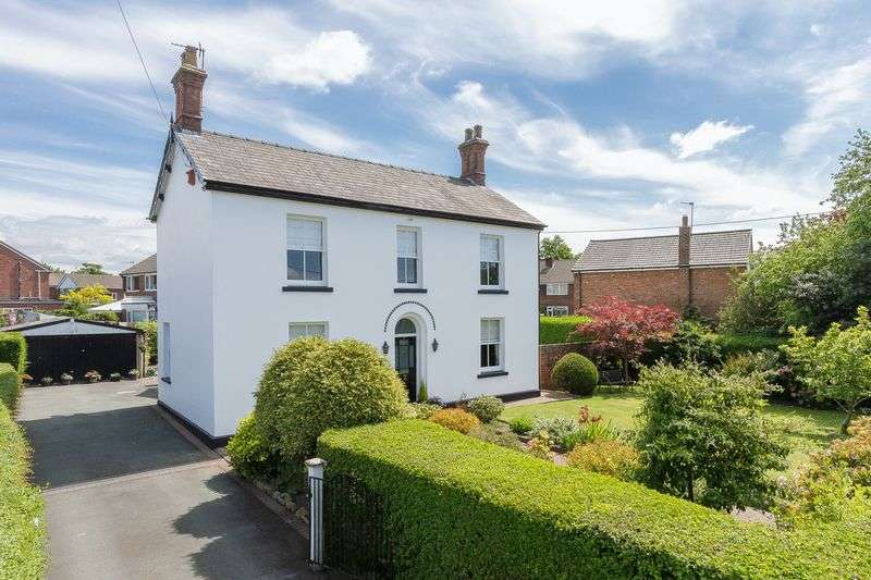 4 Bedrooms Detached House for sale in Birches Lane, Lostock Green, Northwich
