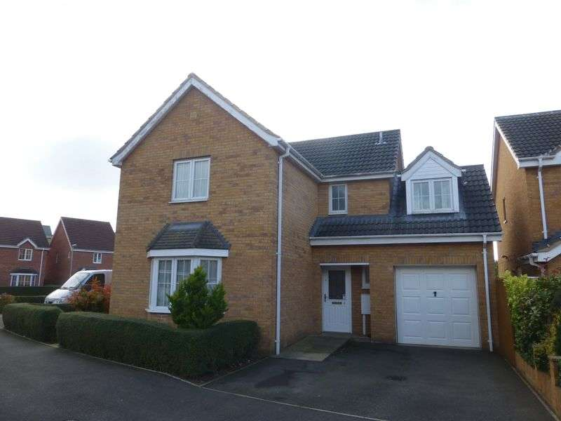 4 Bedrooms Detached House for sale in Rye Close, Sleaford