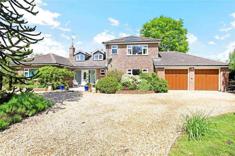 5 Bedrooms Detached House for sale in Wildhern, Andover, Hampshire, SP11