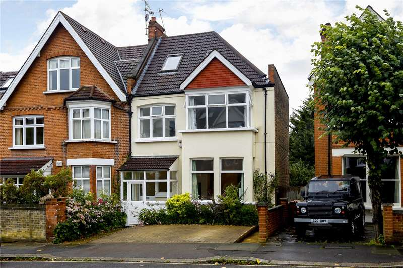 5 Bedrooms Semi Detached House for sale in Vineyard Hill Road, Wimbledon, SW19