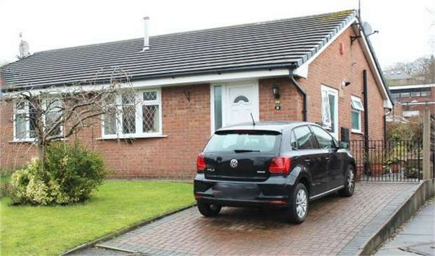 2 Bedrooms Semi Detached Bungalow for sale in Daffodil Close, Rochdale, Lancashire