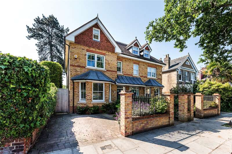 5 Bedrooms Semi Detached House for sale in King Edwards Grove, Teddington, TW11