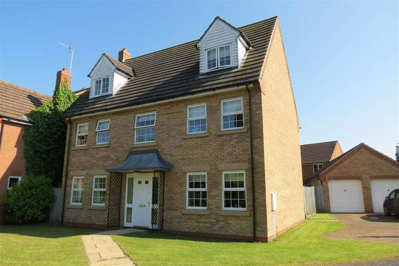 5 Bedrooms Detached House for sale in Ladbroke Close, Helpringham