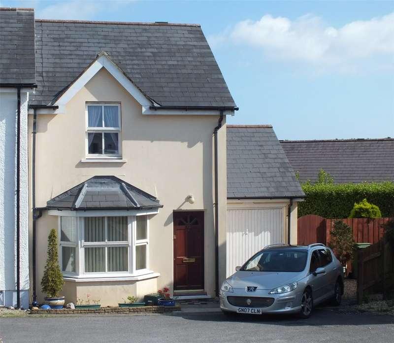2 Bedrooms Semi Detached House for sale in Ferndale, Saundersfoot, Pembrokeshire
