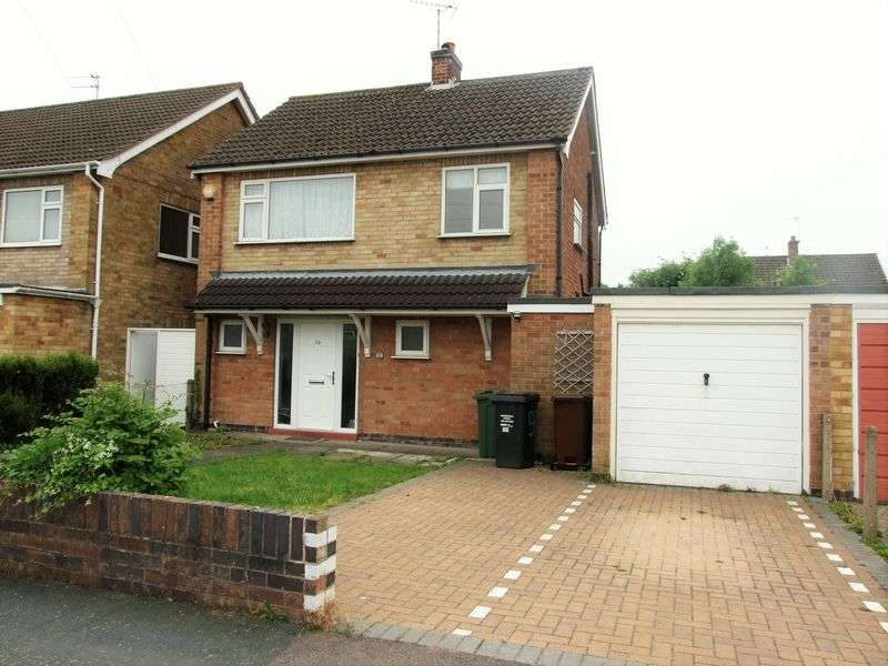 3 Bedrooms Detached House for sale in KIRKSTONE DRIVE, LOUGHBOROUGH