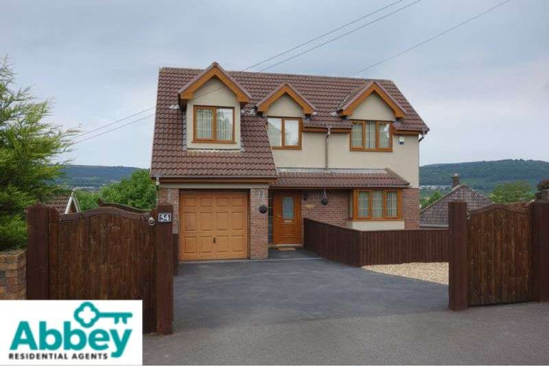 6 Bedrooms Detached House for sale in Woodview, Hillside, Lower Cimla, Neath, SA11 1TL