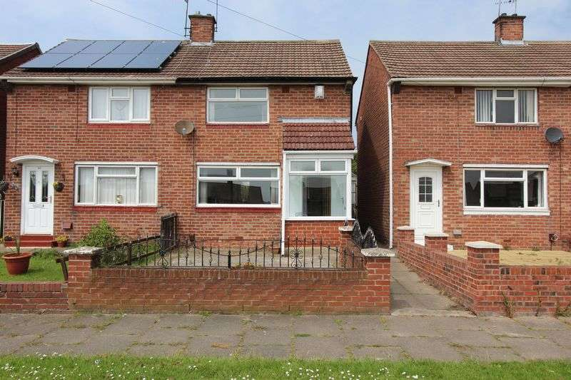2 Bedrooms Semi Detached House for sale in Galashiels Road, Grindon, Sunderland