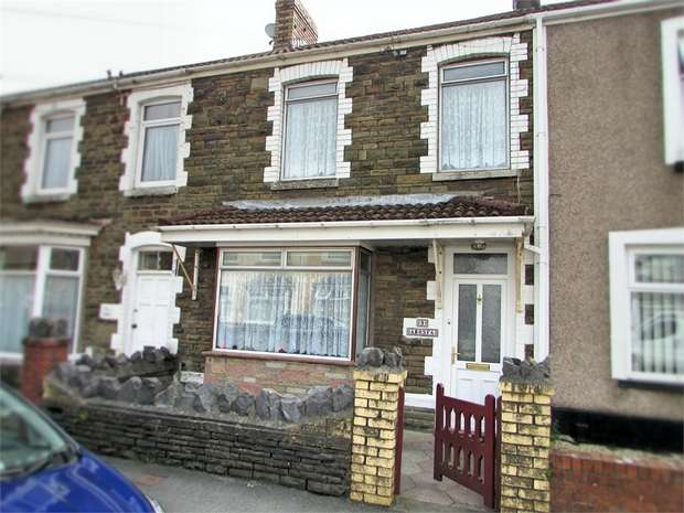 3 Bedrooms Terraced House for sale in Herne Street, Briton Ferry, Neath, West Glamorgan