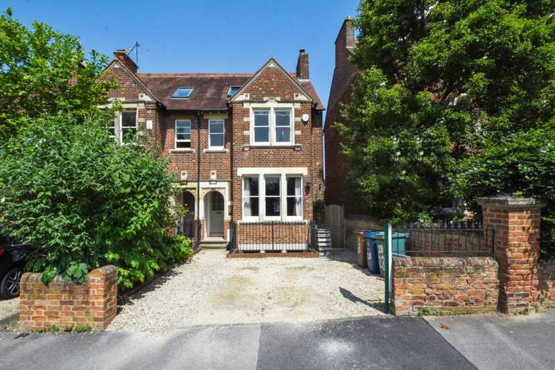 5 Bedrooms Semi Detached House for sale in Frenchay Road, Central North Oxford
