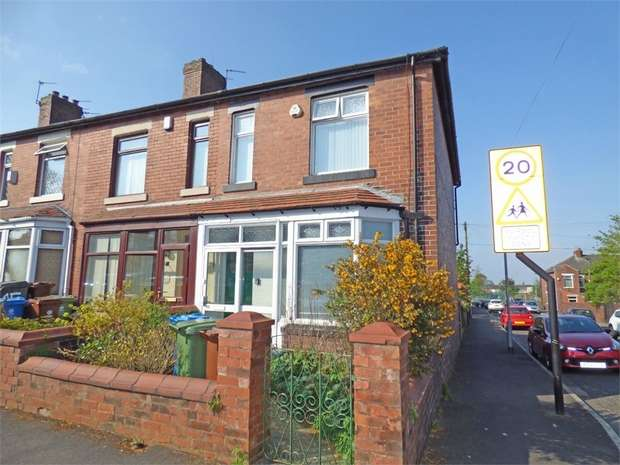 2 Bedrooms End Of Terrace House for sale in Corona Avenue, Oldham, Lancashire