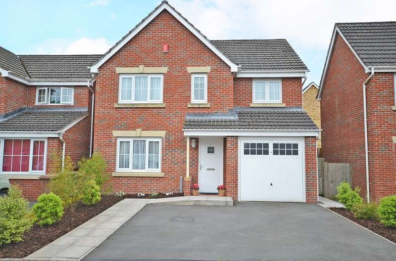 4 Bedrooms Detached House for sale in Coed Celynen Drive, Abercarn, Newport, Gwent. NP11 5AT