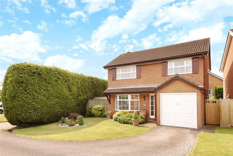 4 Bedrooms Detached House for sale in Dowding Close, Woodley, Reading, Berkshire, RG5