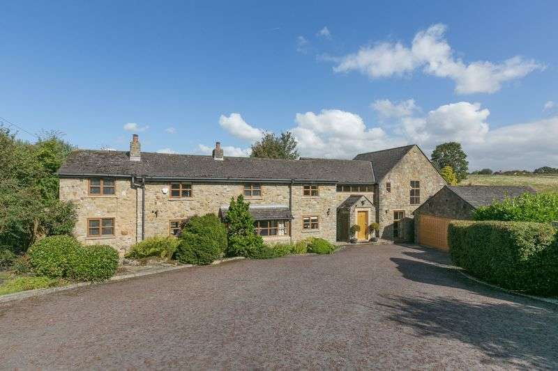 4 Bedrooms Detached House for sale in Walthew Green, Roby Mill, WN8 0QT
