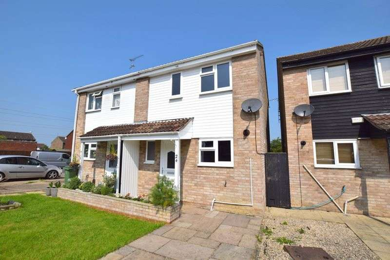 2 Bedrooms Semi Detached House for sale in Bronte Close, Aylesbury