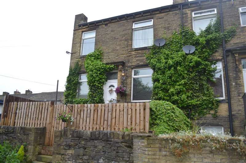 3 Bedrooms End Of Terrace House for sale in Regent Street, Queensbury, Bradford