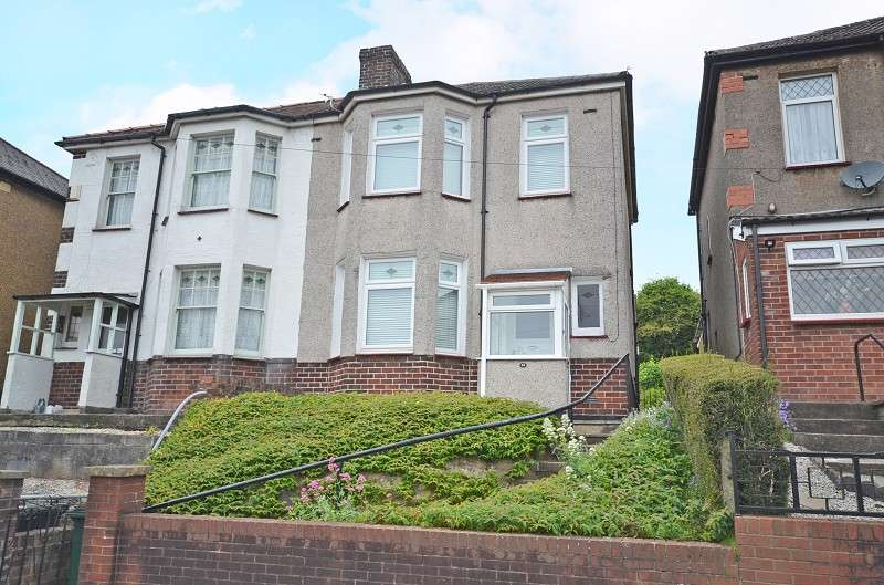 3 Bedrooms Semi Detached House for sale in Brynglas Avenue, Newport, Gwent. NP20 5LR