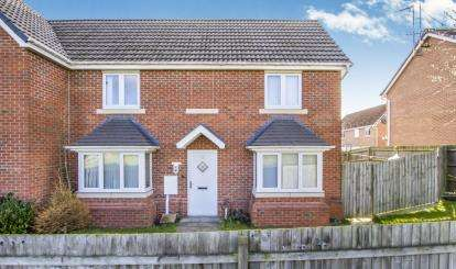 3 Bedrooms Semi Detached House for sale in Tuffleys Way, Thorpe Astley, Braunstone, Leicester
