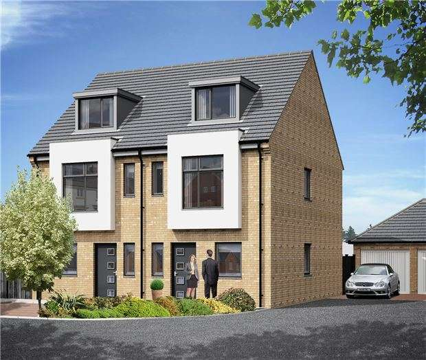 4 Bedrooms Semi Detached House for sale in Plot 28, The White House, Village Road, CHELTENHAM, Gloucestershire, GL51 0AE