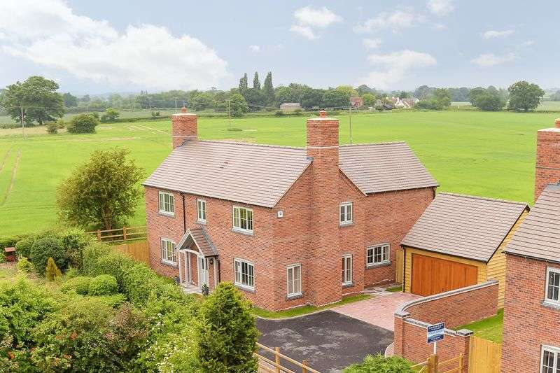 4 Bedrooms Detached House for sale in Rodington, Shrewsbury