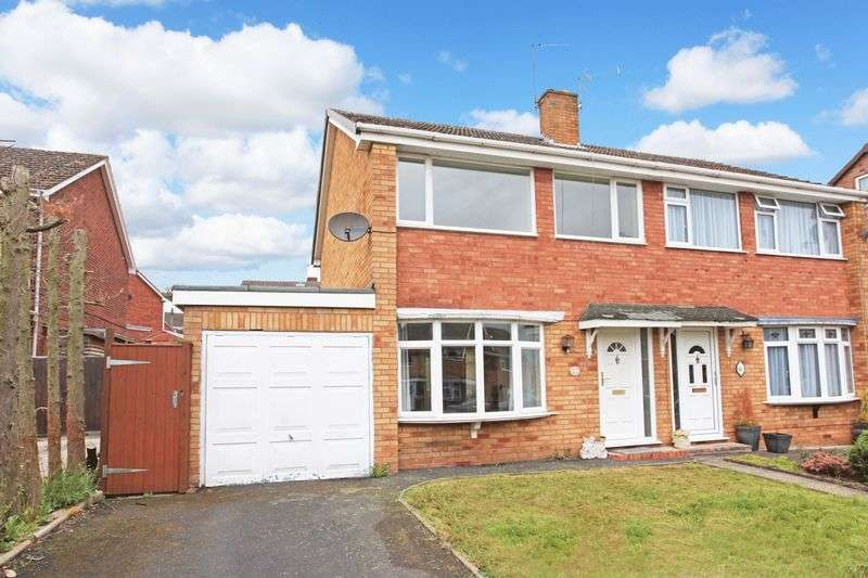 3 Bedrooms Semi Detached House for sale in Goldstone Drive, Bridgnorth