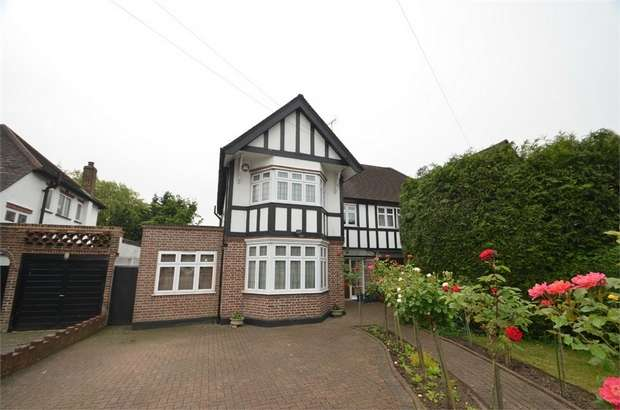 4 Bedrooms Semi Detached House for sale in Marsh Lane, Mill Hill