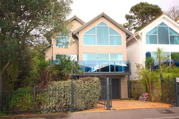 4 Bedrooms Detached House for sale in Chaddesley Glen, Canford Cliffs, Poole, Dorset