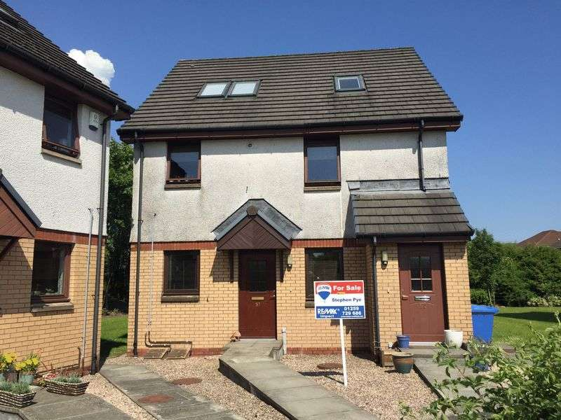 2 Bedrooms Flat for sale in Finglen Crescent, Tullibody