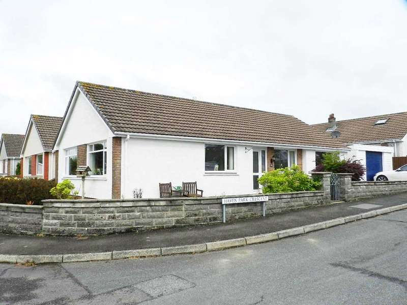 3 Bedrooms Detached Bungalow for sale in Haven Park Drive, Haverfordwest, Pembrokeshire