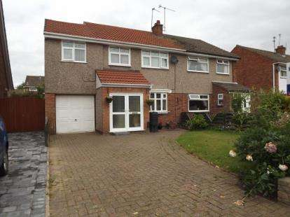 4 Bedrooms Semi Detached House for sale in Starbeck Drive, Little Sutton, Ellesmere Port, Cheshire, CH66